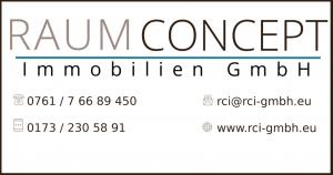 Raum Concept Immobilen GMbH Freiburg Kontakt Online